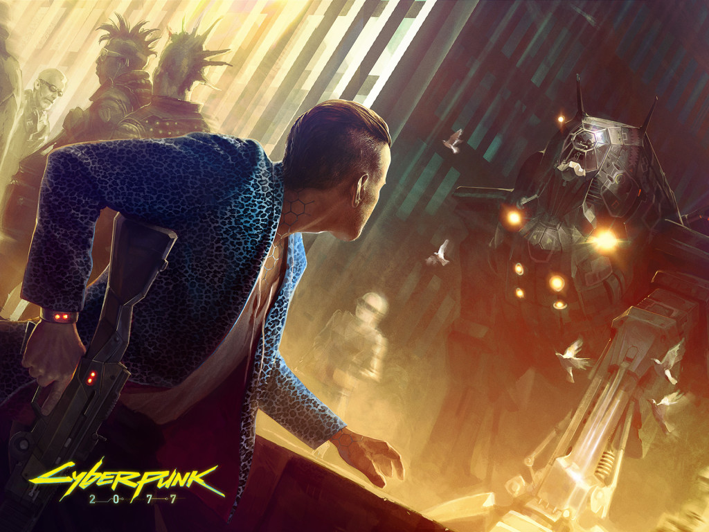 Larger wallpaper images from the Cyberpunk 2077 website