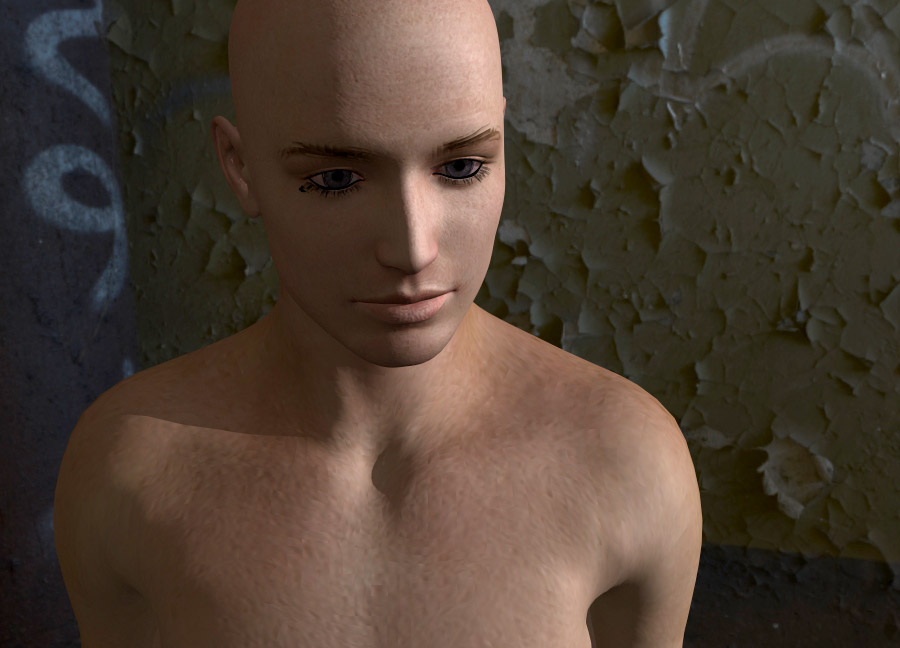 DAZ 3D's Genesis exported via Alembic and rendered in LightWave 11.6.1