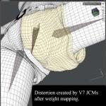 JCM mesh distortion in DAZ Studio - Victoria 7