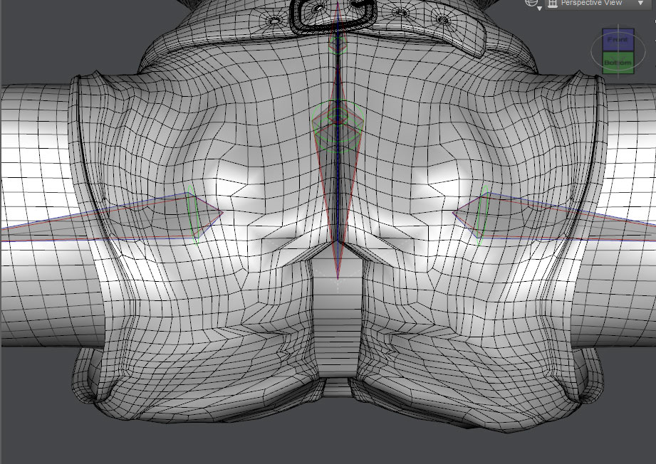Prime example of how Genesis 3 JCMs can create unwanted distortion in clothing mesh.